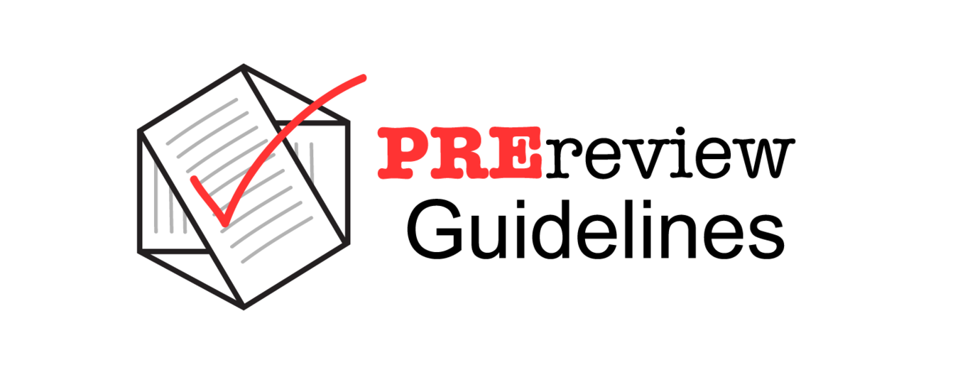 Prereview guidelines 2