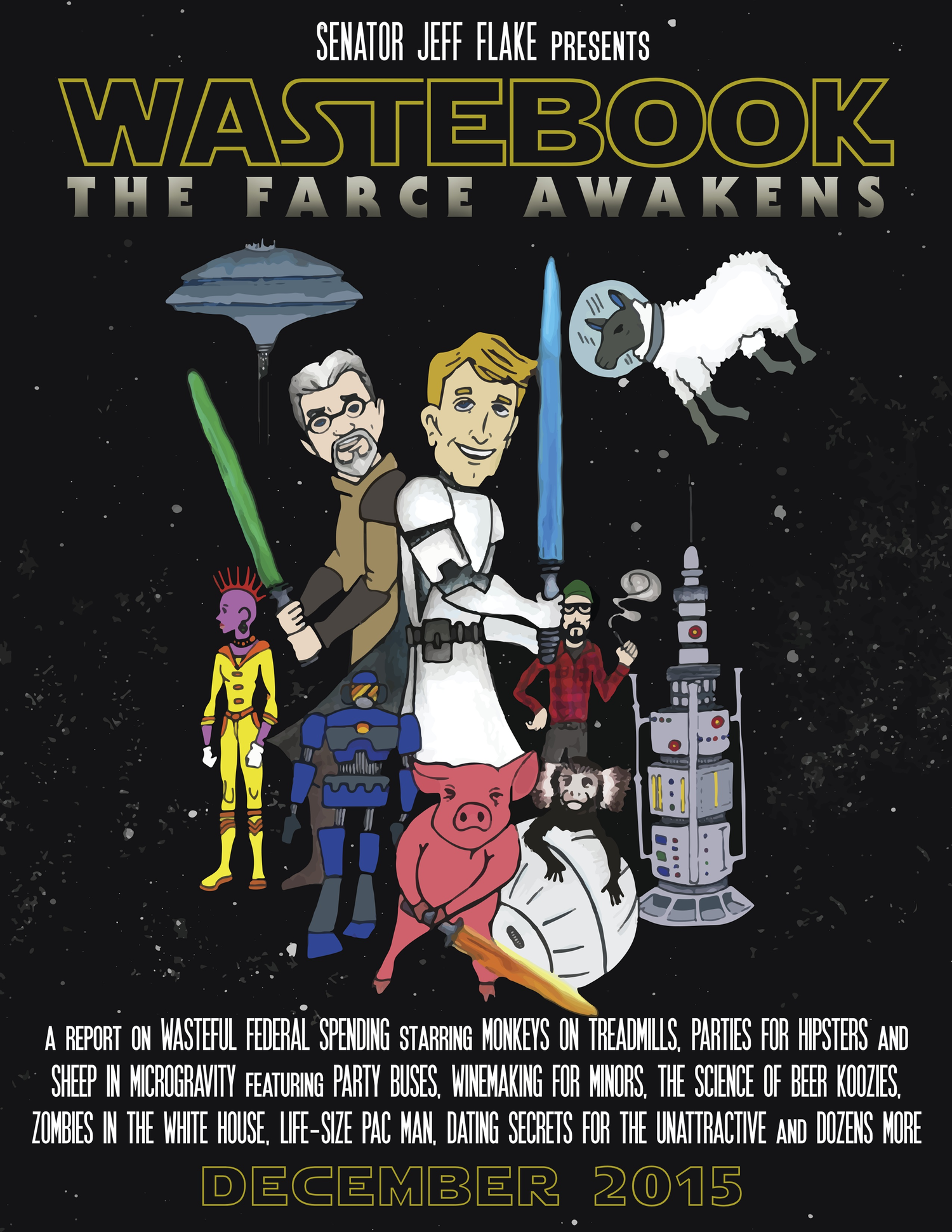 Wastebook   the farce awakens